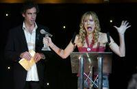 Steve Mangan and Lucy Punch in Festival